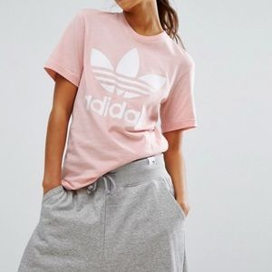 Adidas boyfriend fit top